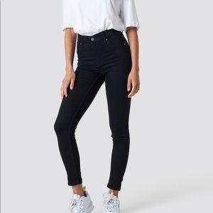 Frame Denim Jeans - FRAME Black skinny jeans